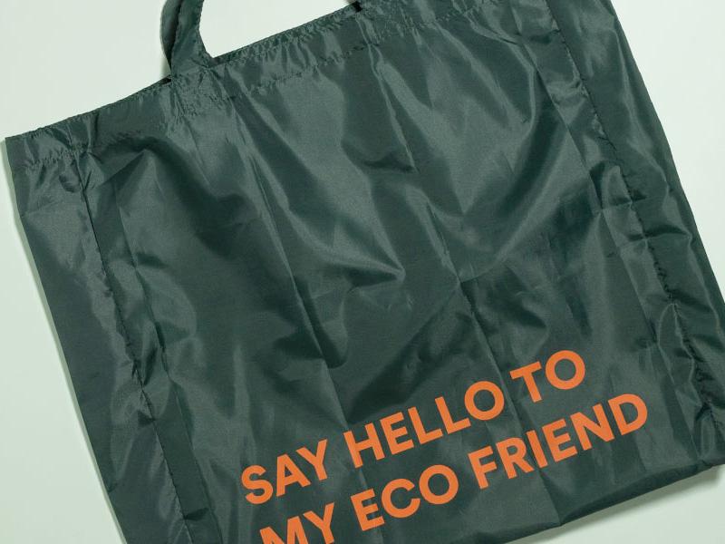 ta bort plast text på väska